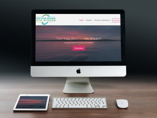 Turn Your Wounds Into Wisdom Website Design and Development