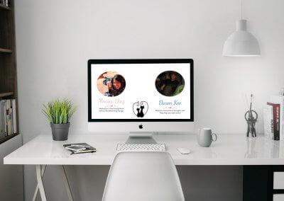 The Kee Weeding website!