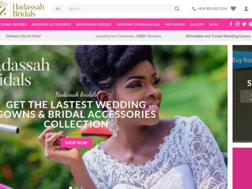 Hadassah eCommerce Store