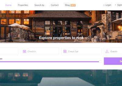 LuxKey Real estate Rental Website